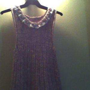 χειροποιητο πλεκτο φορεμα