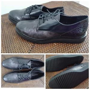 Tamaris Oxford black/silver