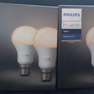 ΟΛΟΚΑΙΝΟΥΡΓΙΕΣ Philips LED λάμπες white + Philips Hue v1 bridge