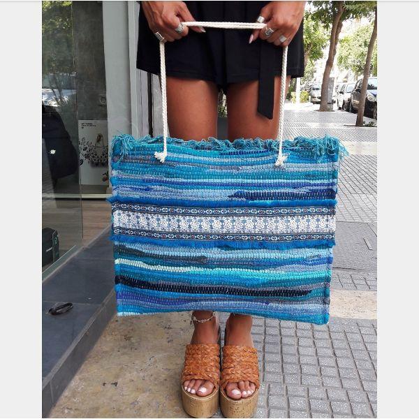 Handmade kourelou bag - αγγελίες σε Θεσσαλονίκη - Vendora.gr 86e438dde4f