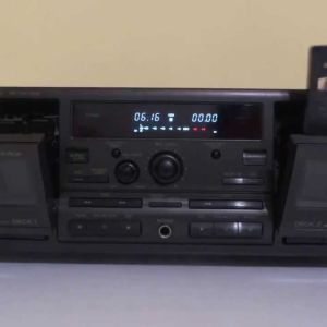 Technics double casette RS-TR575M2 made in Japan
