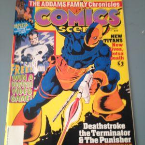 Περιοδικό Comics Scene Τεύχος 24, Εξώφυλλο Deathstroke the Terminator, 1992