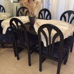 Τραπεζαρία με δώρο 6 καρέκλες