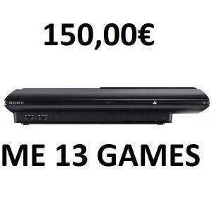 PLAYSTATION 3+13 GAMES+1TB ΧΩΡΟ ΑΠΟΘΗΚΕΥΣΗΣ (ΣΕ ΠΟΛΥ ΚΑΛΗ ΚΑΤΑΣΤΑΣΗ)