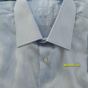 Δύο αντρικά πουκάμισα, μεγάλο μέγεθος XXL.