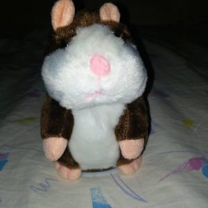 Κουκλακι Λουτρινο Hamster Μιμειται Φωνη