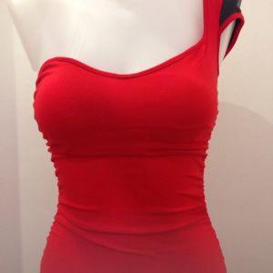 Κόκκινο off shoulder μίνι φόρεμα small. Άριστη κατάσταση! 15465a25f4f