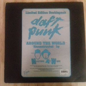 "Daft Punk ‎– Around The World (Ricanstructed By Masters At Work) (2 × Vinyl, 12"", 33 ⅓ RPM, Limited Edition )"