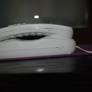 Τηλέφωνο γόνδολα ενσύρματο ALCATEL T07 WHITE