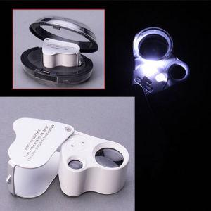 Φακος Μεγενθυσης 30 - 60Χ Μεγενθυση με LED