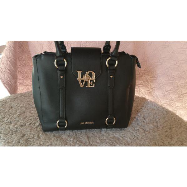 Τσάντα LOVE MOSCHINO Μαύρη - αγγελίες σε Γλυφάδα - Vendora.gr 31fa12b9d7b